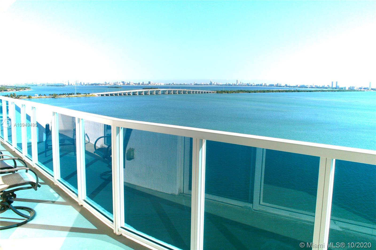 ALL ROOMS with DIRECT BAY VIEWS: two (2) bedrooms + living + dining + kitchen.  PRIVACY: No building