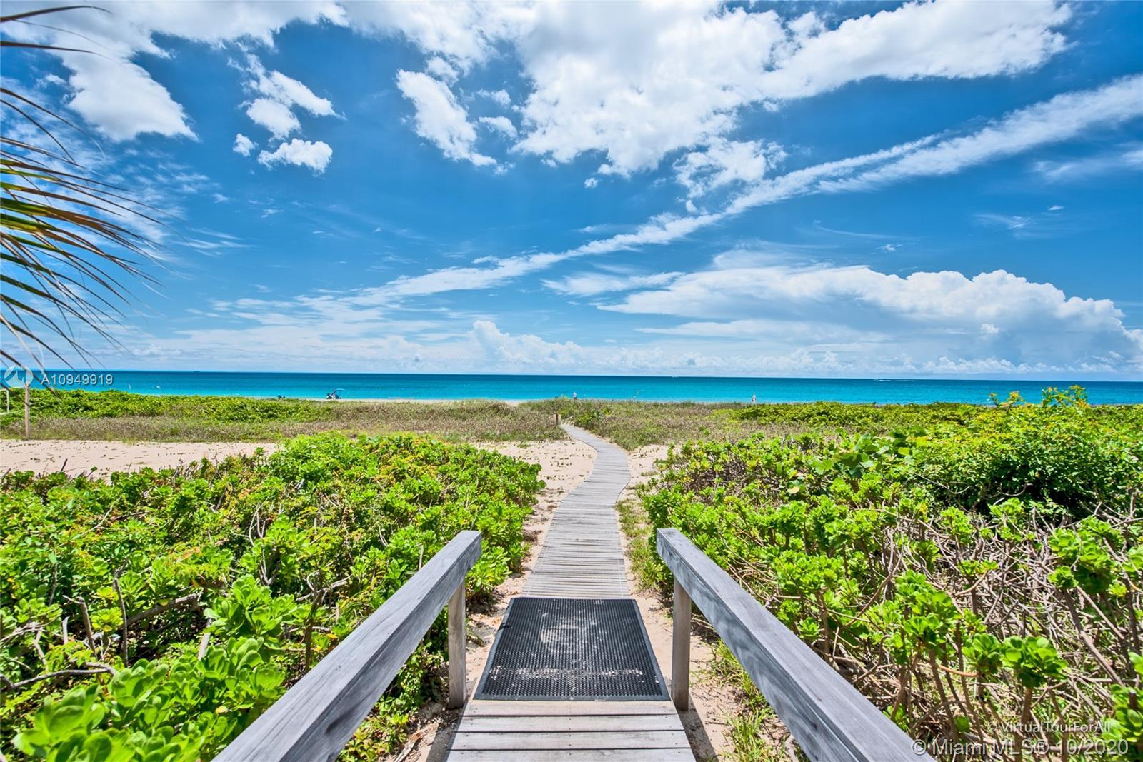 BEACH LIFE!! INCREDIBLE 2 BEDROOM, 2 BATH RENOVATED PENTHOUSE WITH OCEAN VIEWS AND PRIVATE BEACH ACC