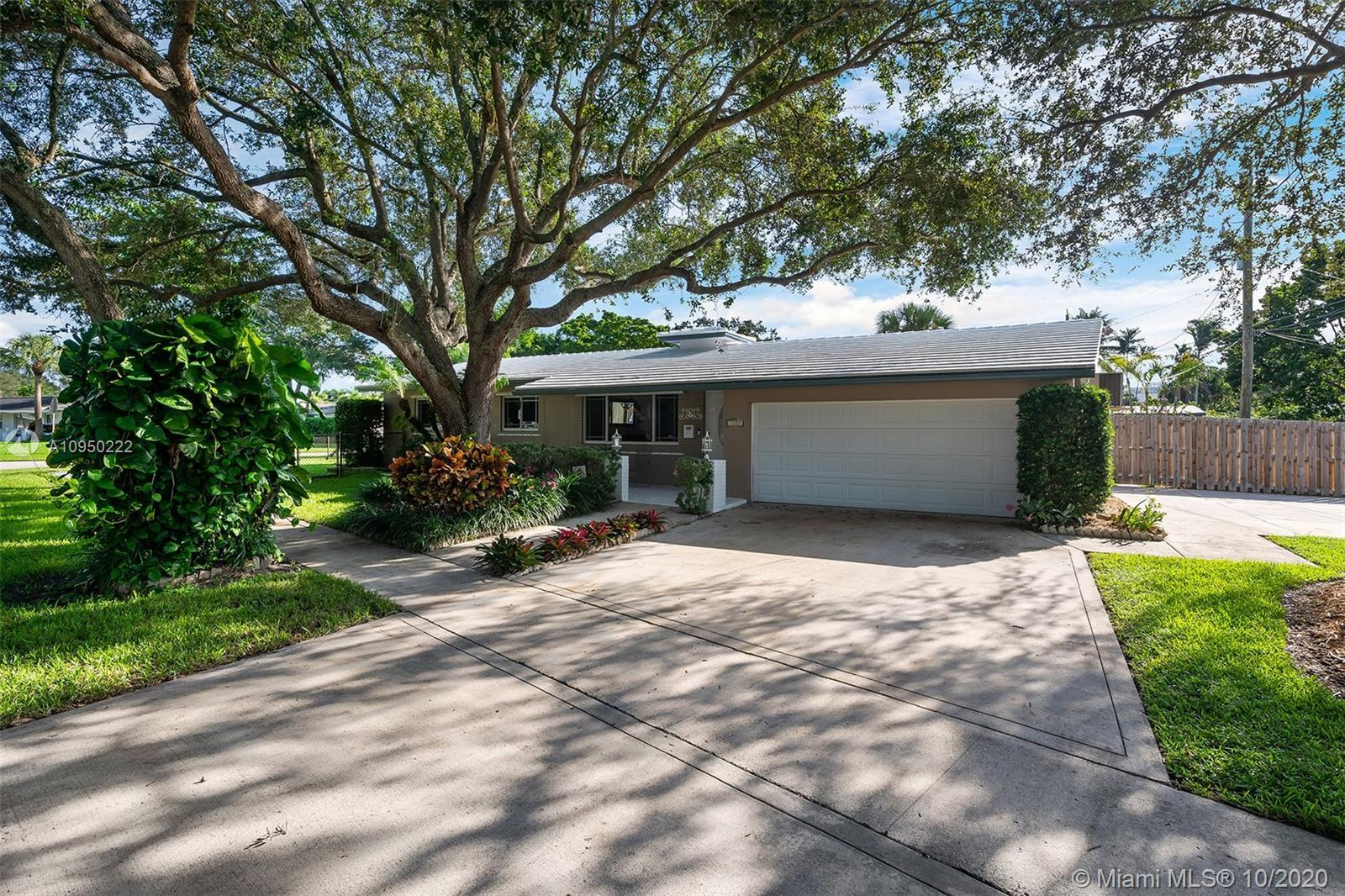 Beautiful and extremely well maintained Hollywood Hills pool home located on one of the quietest str