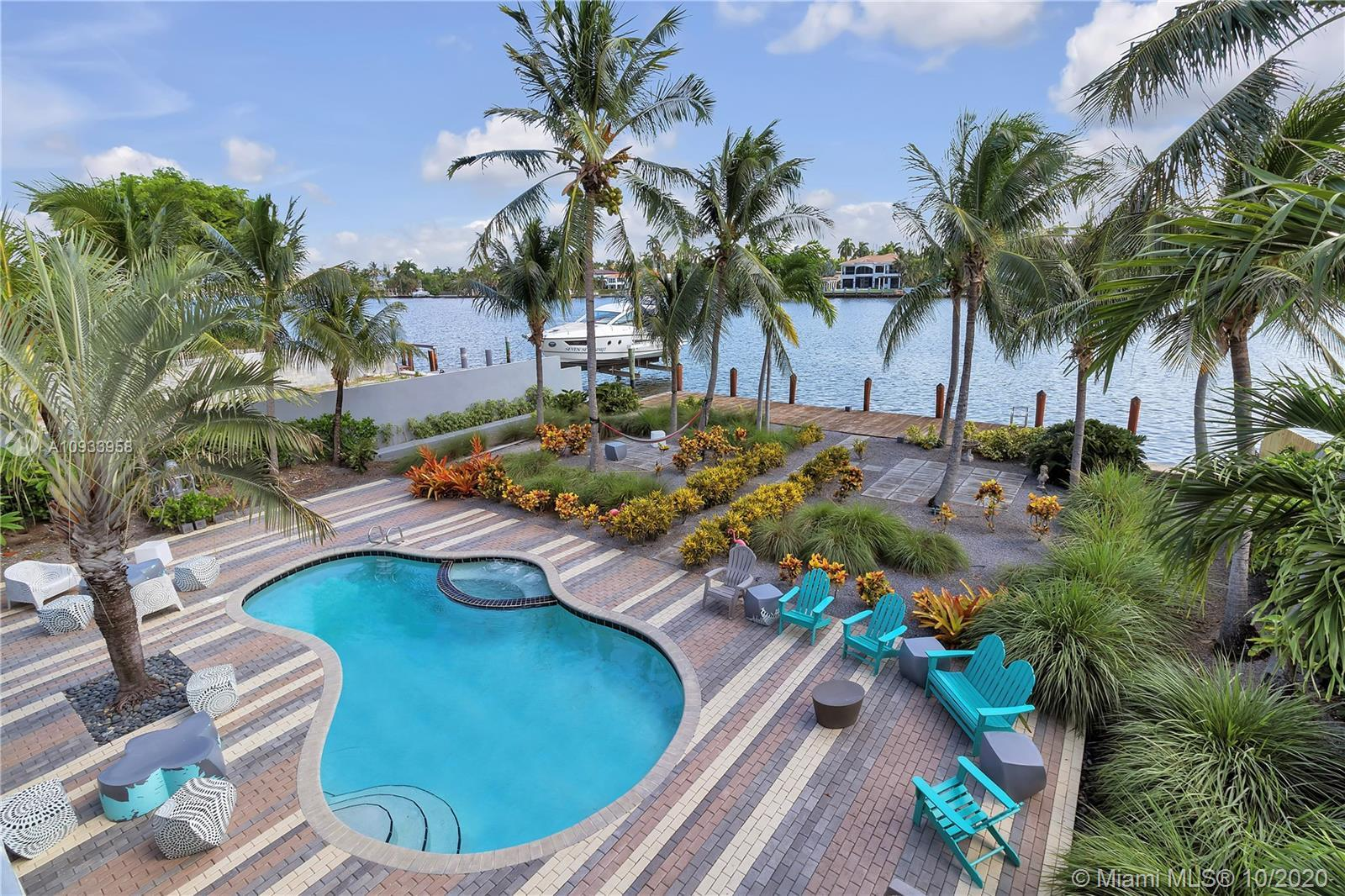 Gracious living in one of South Florida's most desirable neighborhoods, Hollywood Lake Sec. This 5 b