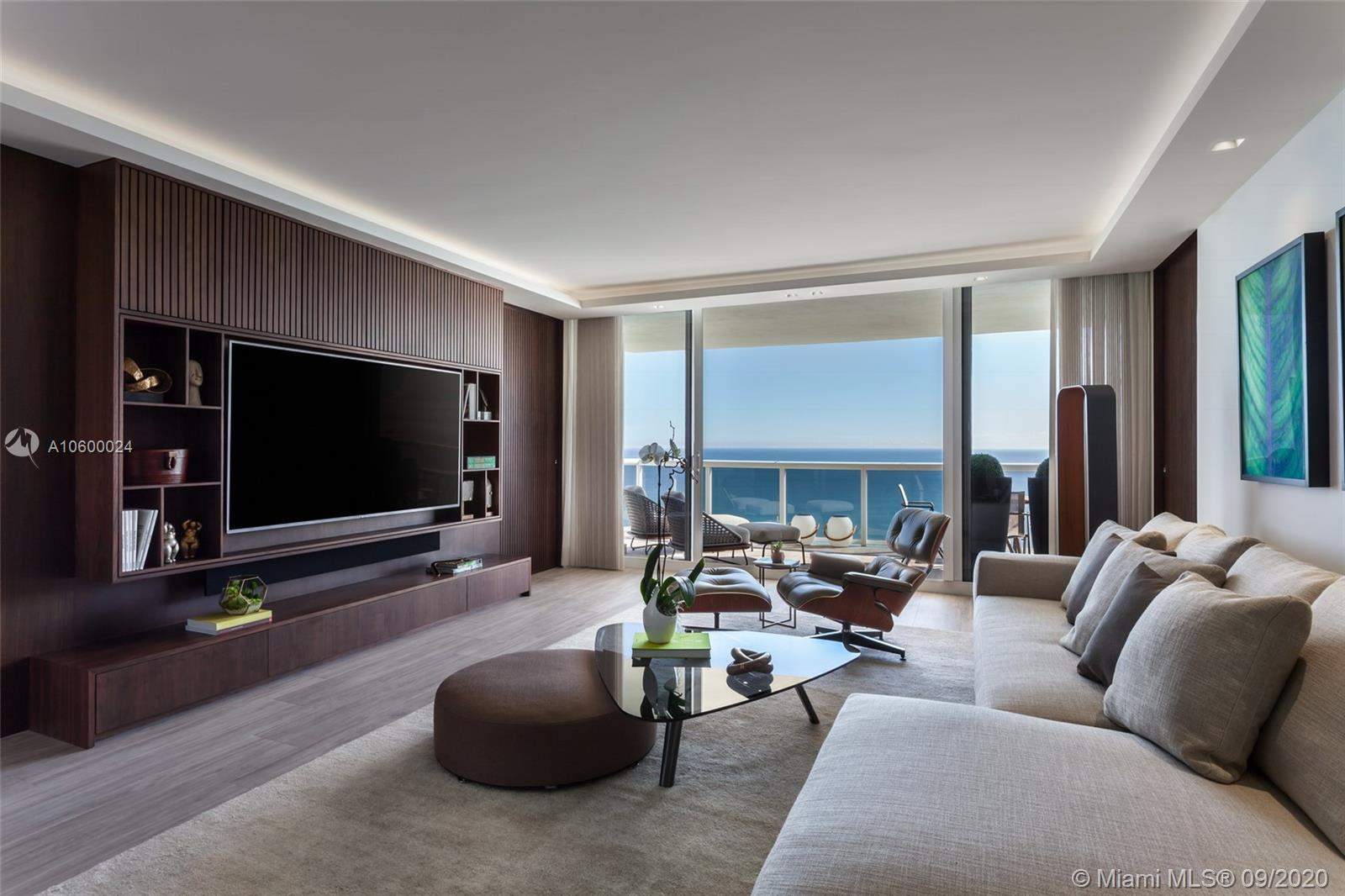 Breathtaking Direct Ocean Unobstructed Views from this impeccably designed 2 bed/ 2bath, 1,530/SF re