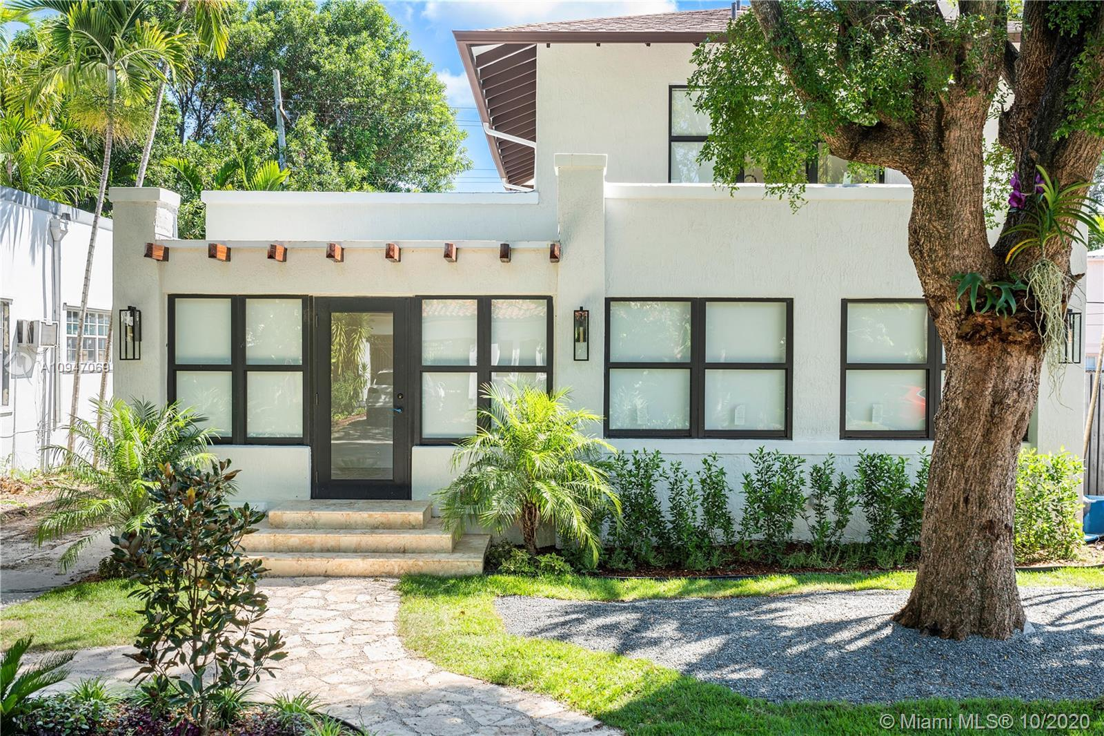 Nestled in a tree lined street, just a short walk from Design District's haute culture of fashion, f