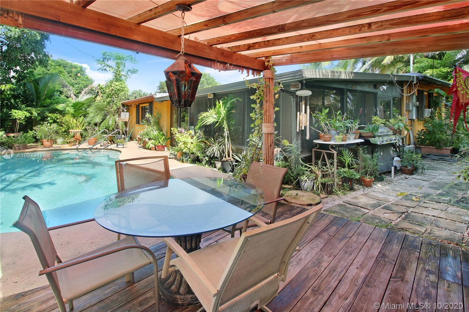 Beautiful garden oasis home in a very desirable subdivision of West Wilton Manors. Property has so m