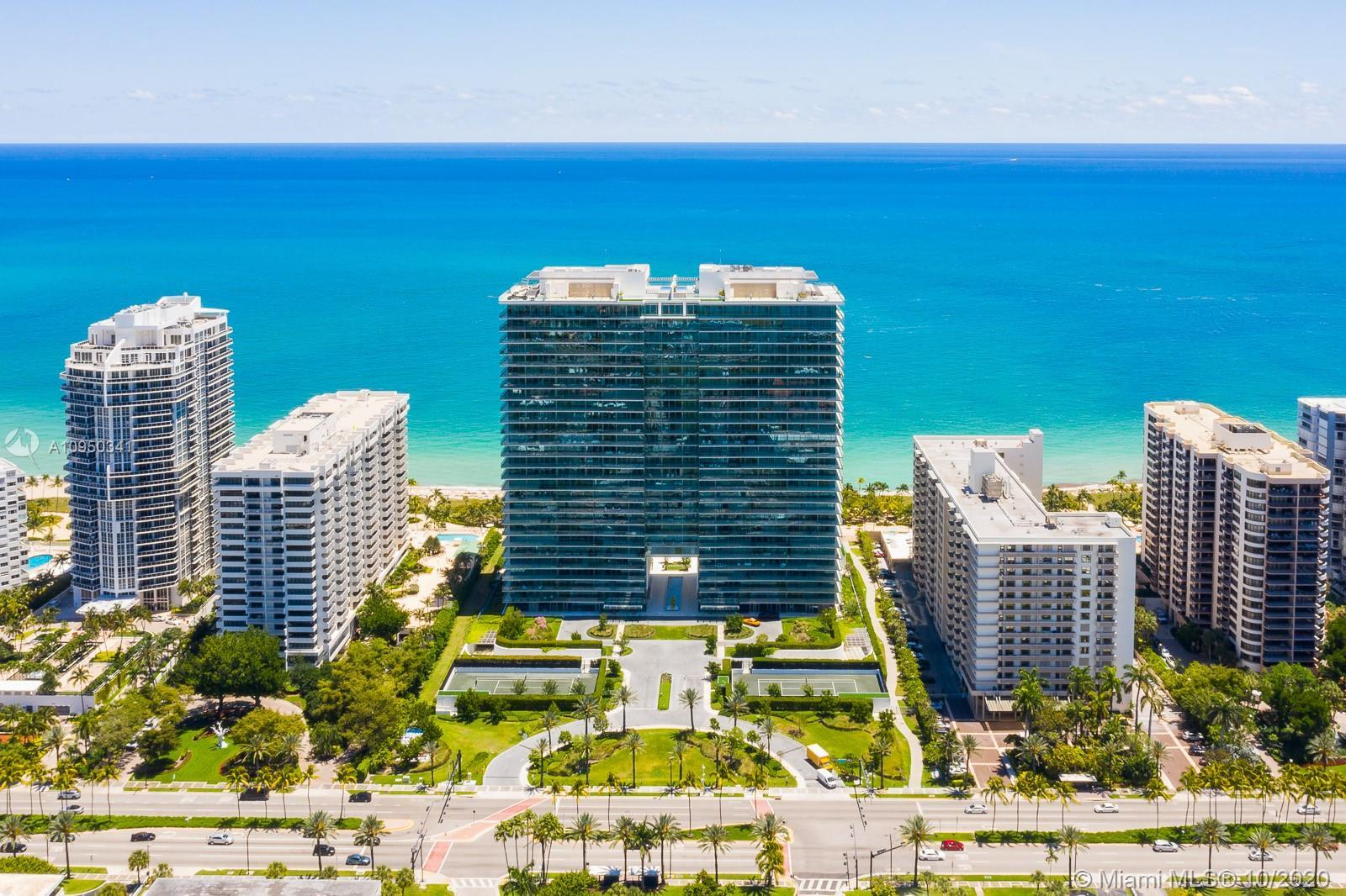 Completely turn key 2-bedroom, 2-bathroom residence at the newly built Oceana Bal Harbour.