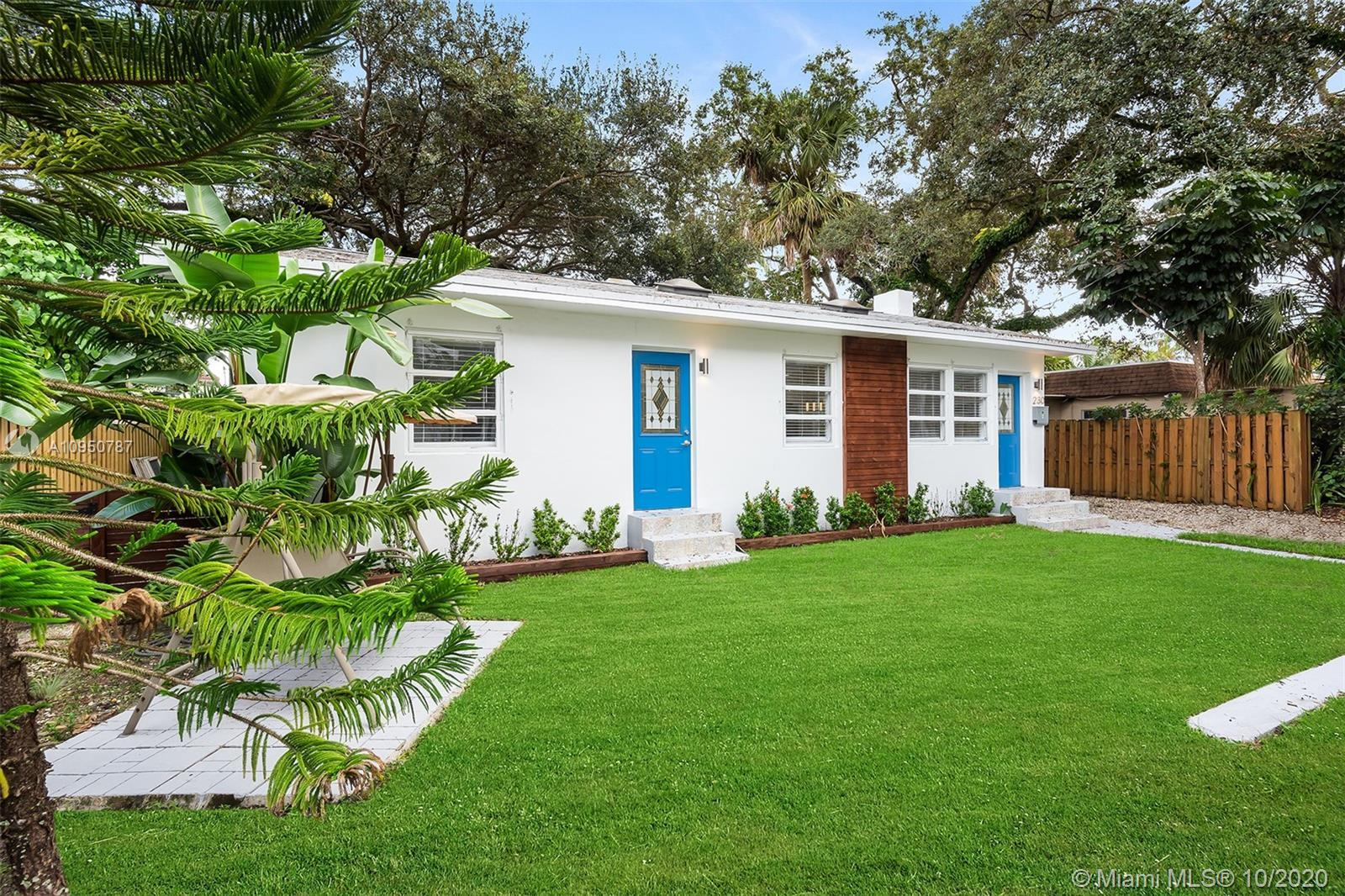 SINGLE FAMILY HOME IN DOWNTOWN FORT LAUDERDALE AT LAS OLAS BLVD*SAILBOAT BEND IS RANKED #1 AS THE BE