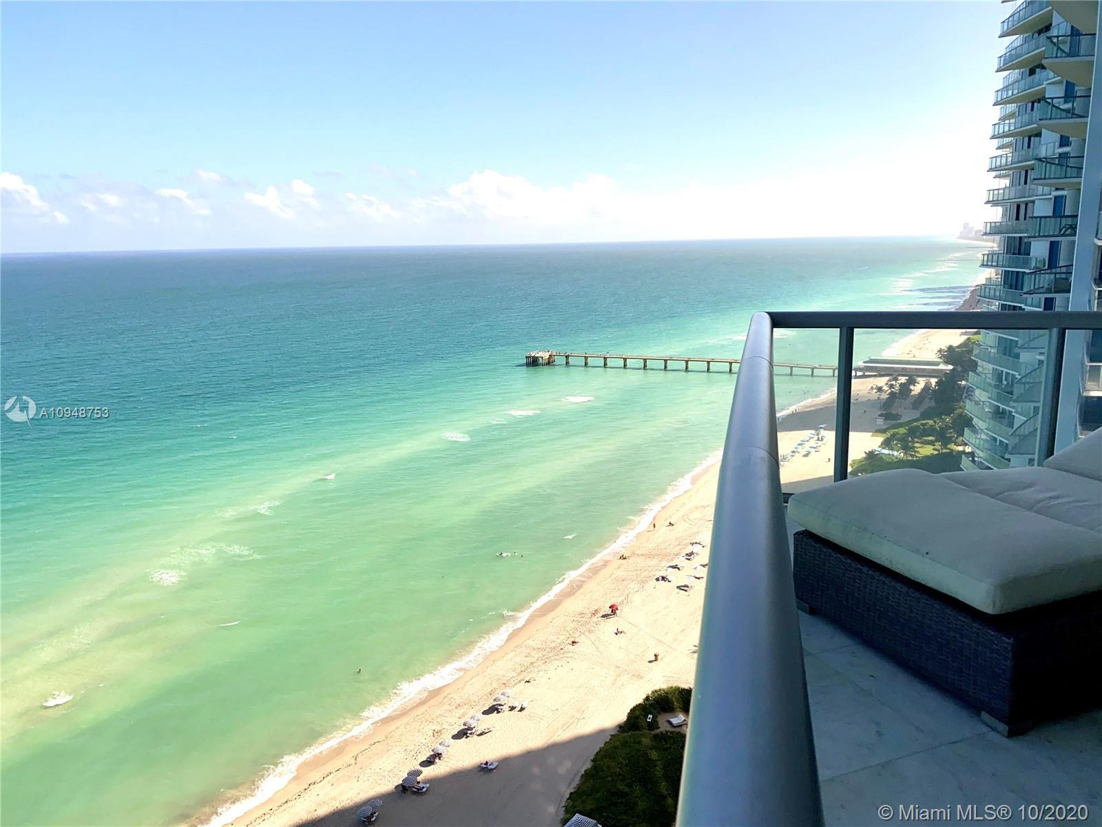 PRE-FORECLOSURE UNLIMITED OCEAN VIEWS FROM THIS ONE BEDROOM PLUS DEN with TWO full bath at the Luxur