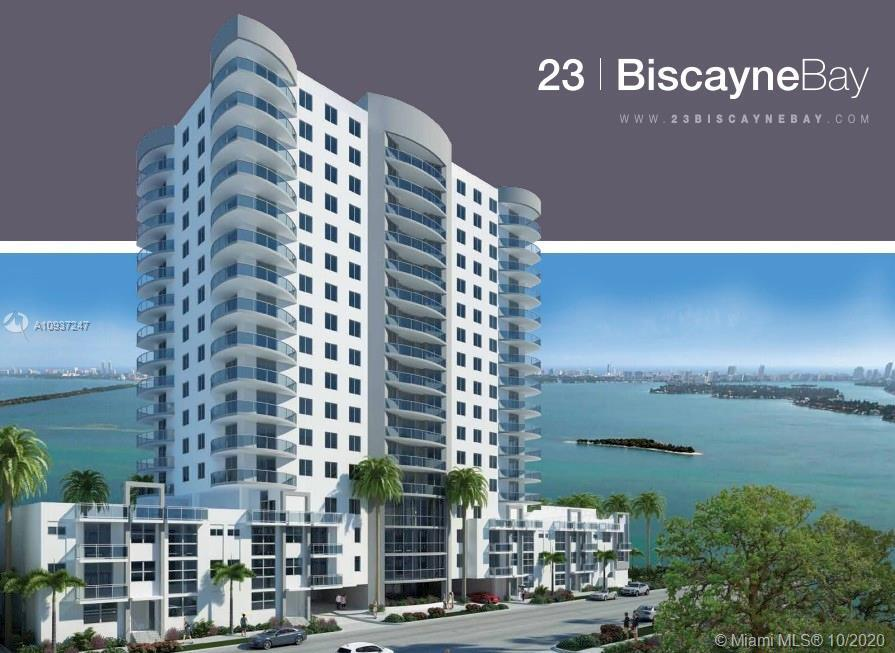 Great apartment in the heart of Edgewater. 1 Bed / 1 Bath with 1 space parking. 23 Biscayne Bay Cond