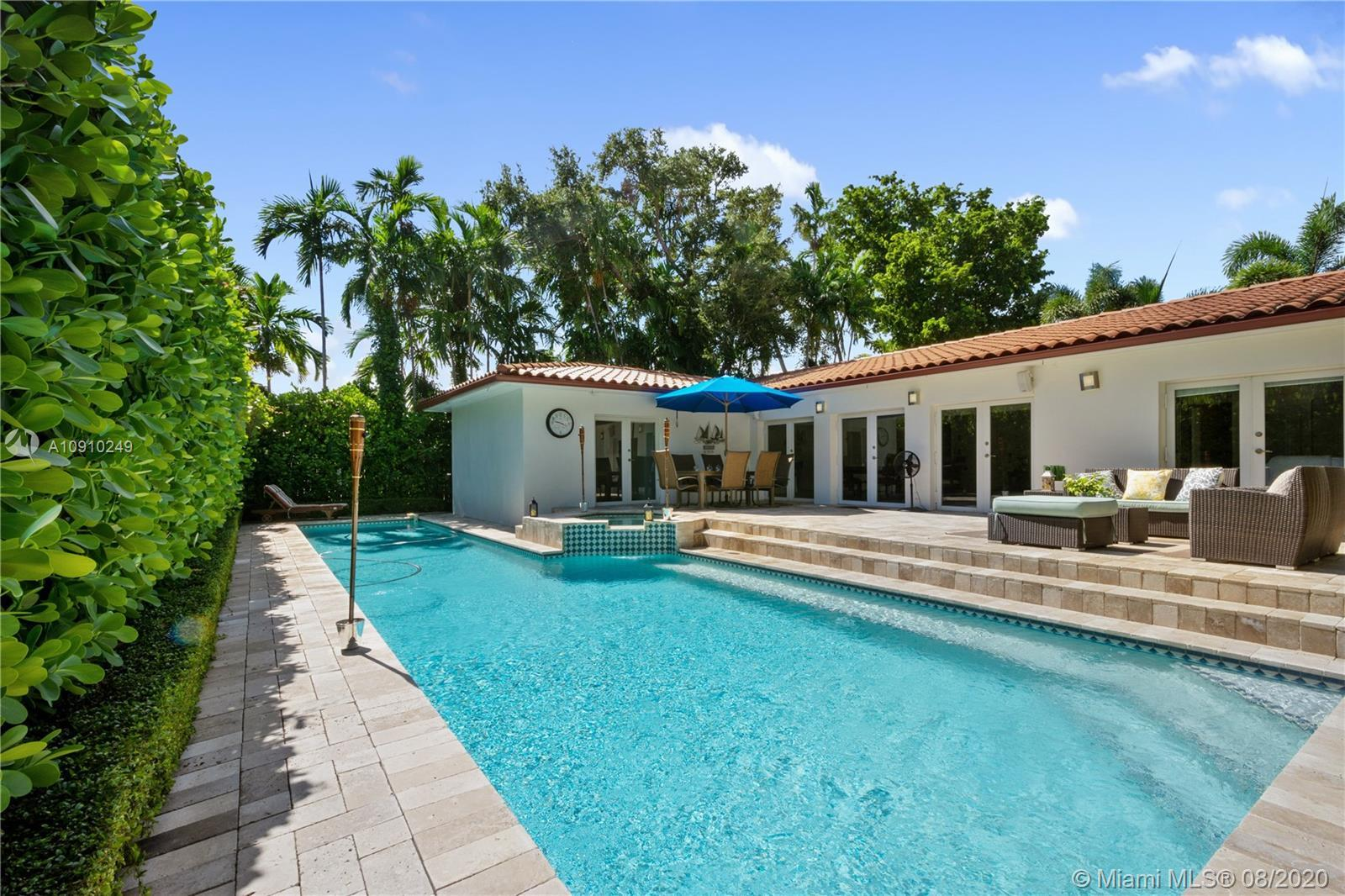 Beautiful newly remodeled modern Mediterranean home on the eastside of Miami Shores move in Ready! S