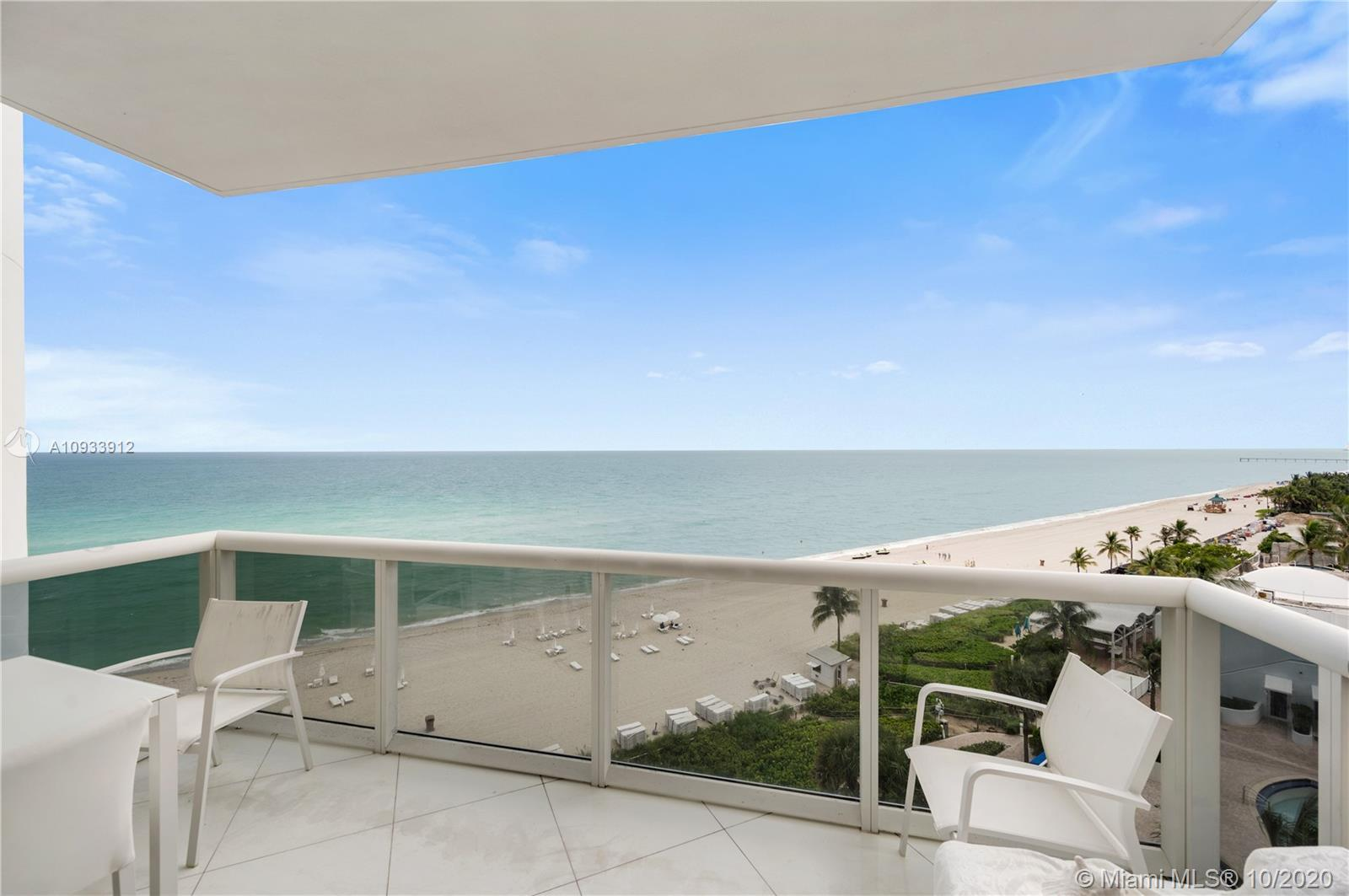 Smell the salt air right from your luxurious balcony in the prestigious Trump Palace.  Just an eleva