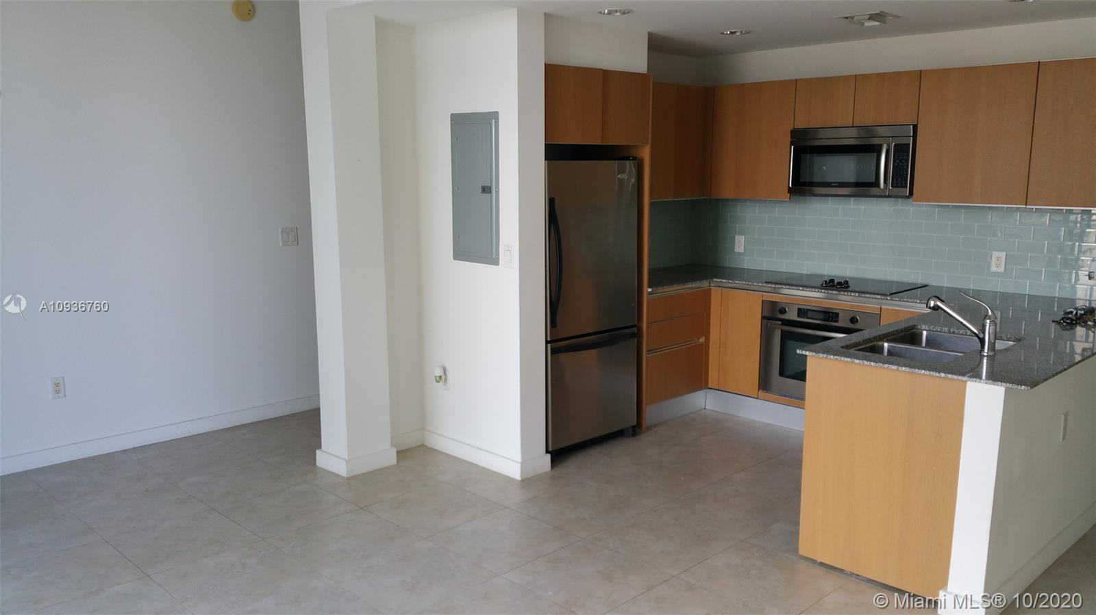Nice Open Space LOFT unit with 1,125 Square feet in Brickell Area, open balcony view facing South Mi