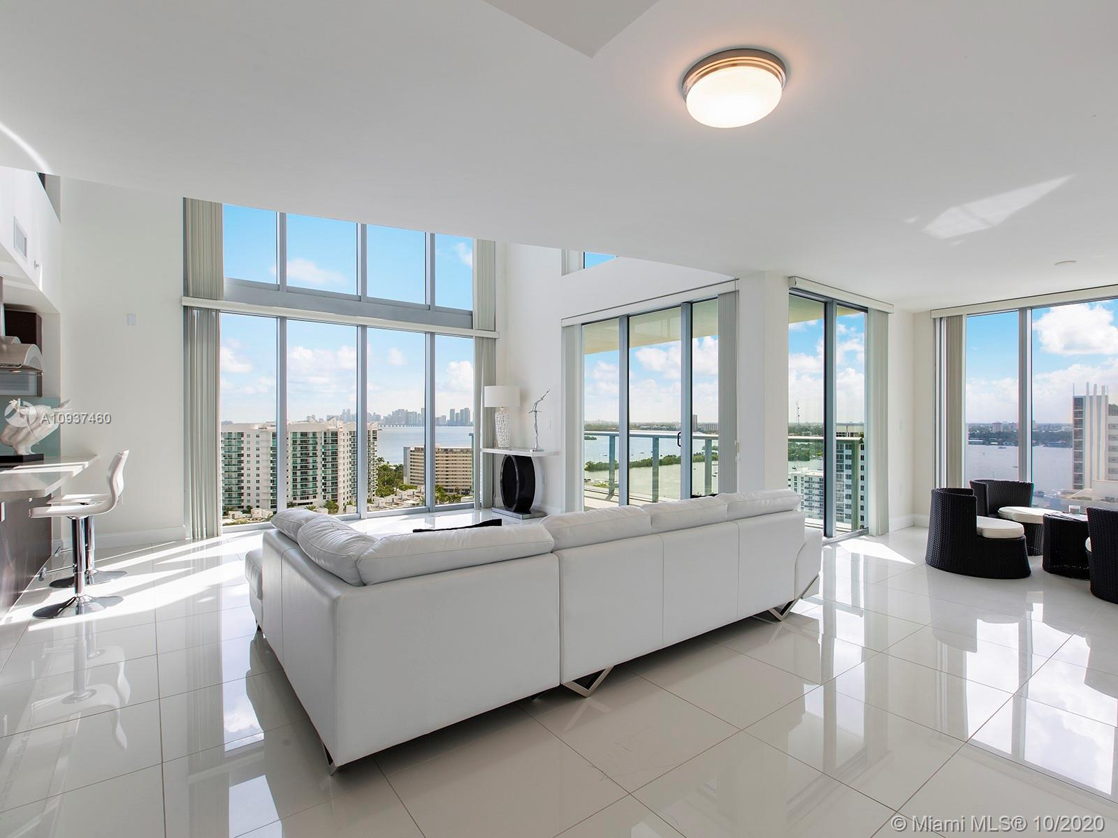 This beautiful apt offers over 2,500 sq ft of open space living with 3 bedrooms, 3.5 bathrooms, an o