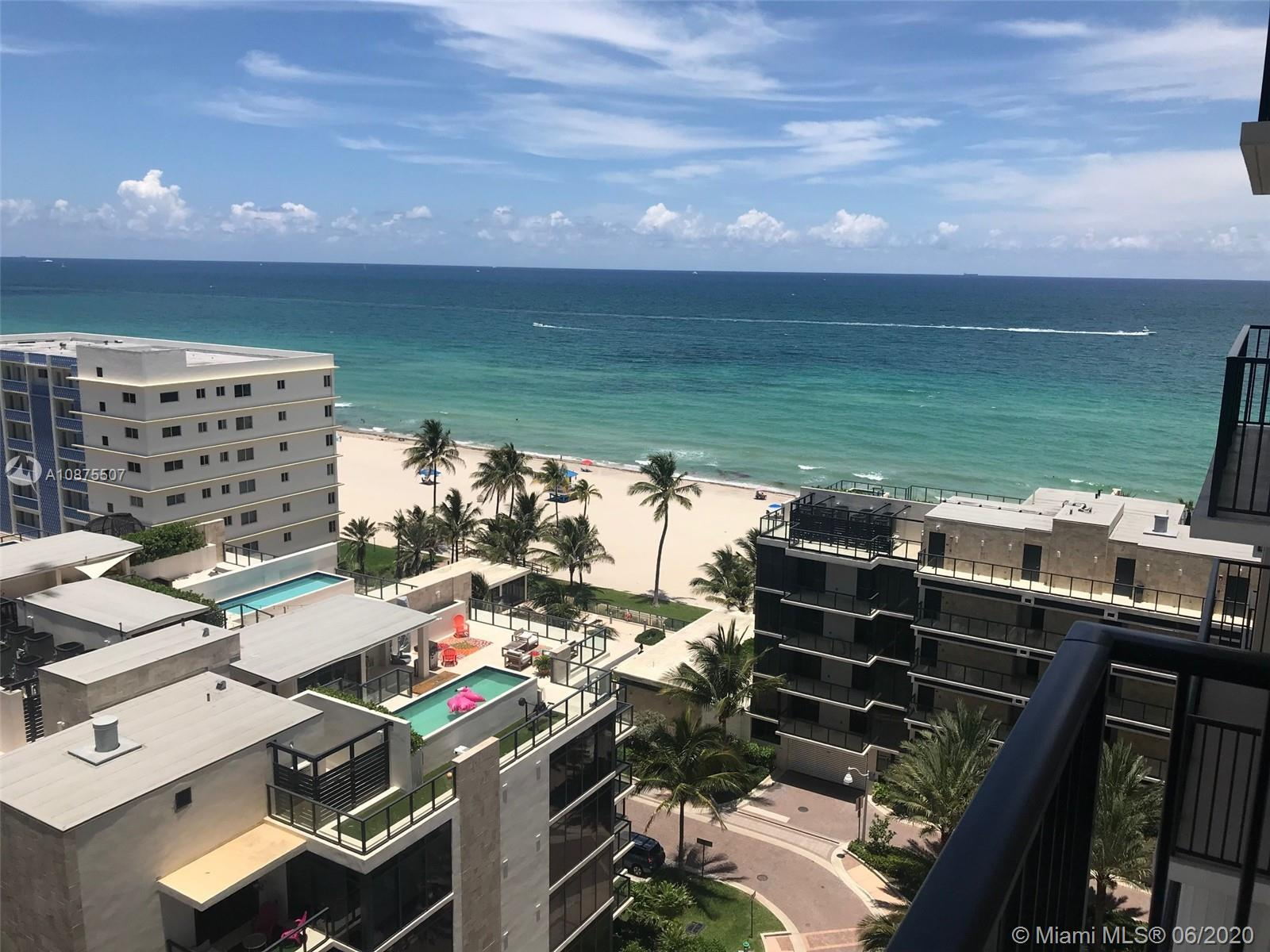 Direct beach access, sweeping views to ocean & intracoastal from wrap around balcony. Relax watching