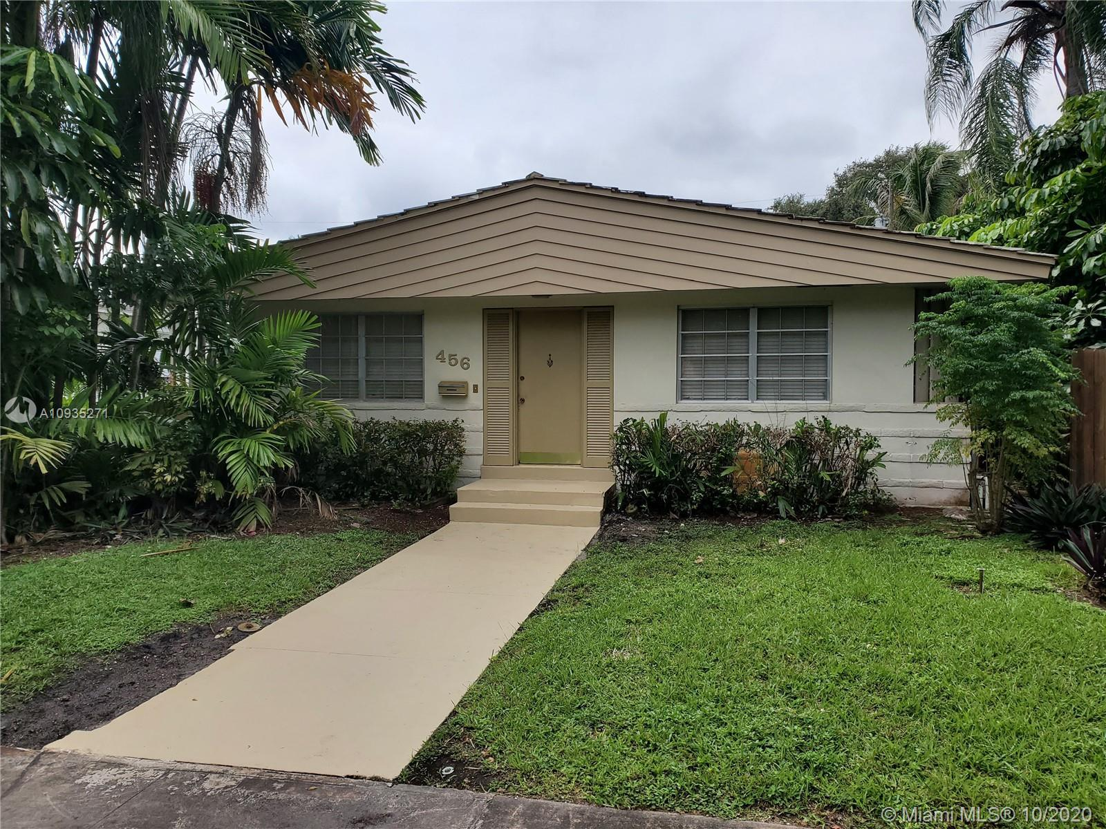 JUST REDUCED! LOCATION! OPPORTUNITY! SF Home in Heart of Miami Shores! In a quiet area with lots of