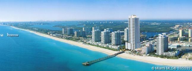 LA PERLA CONDOMINOIUM IS LOCATED AT SUNNY ISLE  OCEAN FRONT BUILDING WITH 2 BEDROOM 2 1/2 BATH AND D