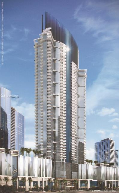 Brand New luxury building Paramount Miami World Center, 2 Bed + Den /3 Full Baths (Den is enclosed a
