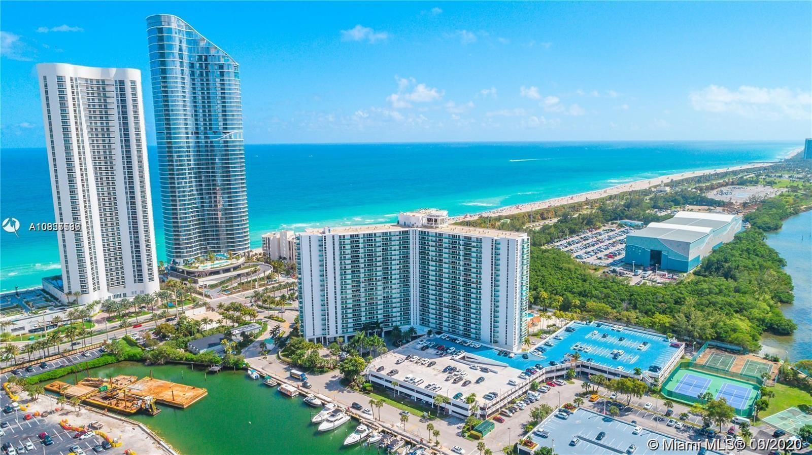 Fully remodeled apartment for sale in Arlen House East. 100 Bayview Dr, unit 2119 is Sunny Isles Bea