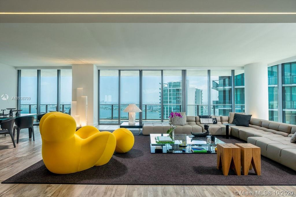 One of a Kind unit. 2 Penthouses combined into ONE Fantastic Layout. Amazing living room space with