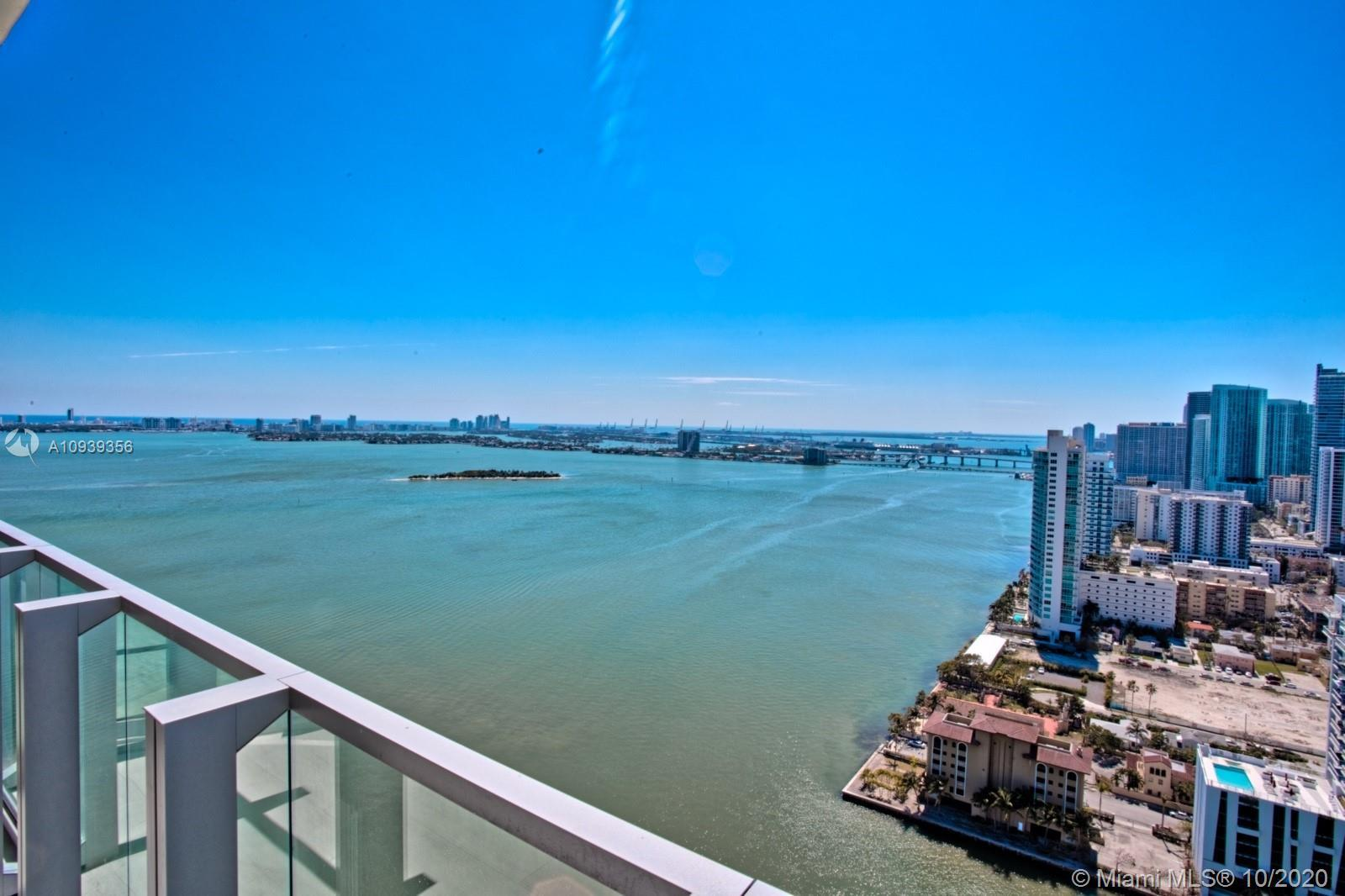 Enjoy this magnificent unit with direct bay views in the newest and most luxurious building in East