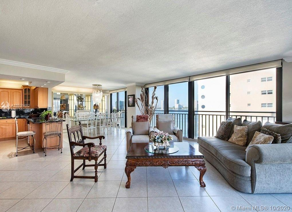 intercostal water views from these beautiful updated corner unit 2 bed/2bath walls of glass with ama