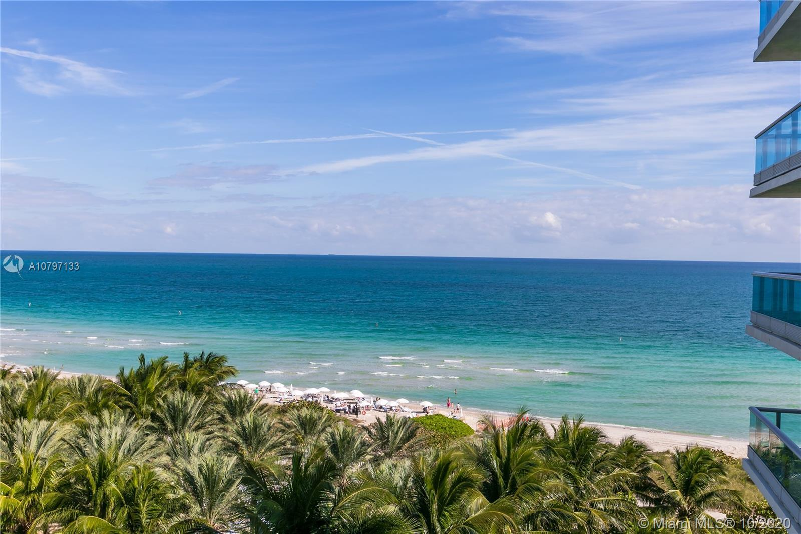 Sophisticated 2 bedroom + den ocean front condo located at the exclusive Azure Boutique bldg. Sought
