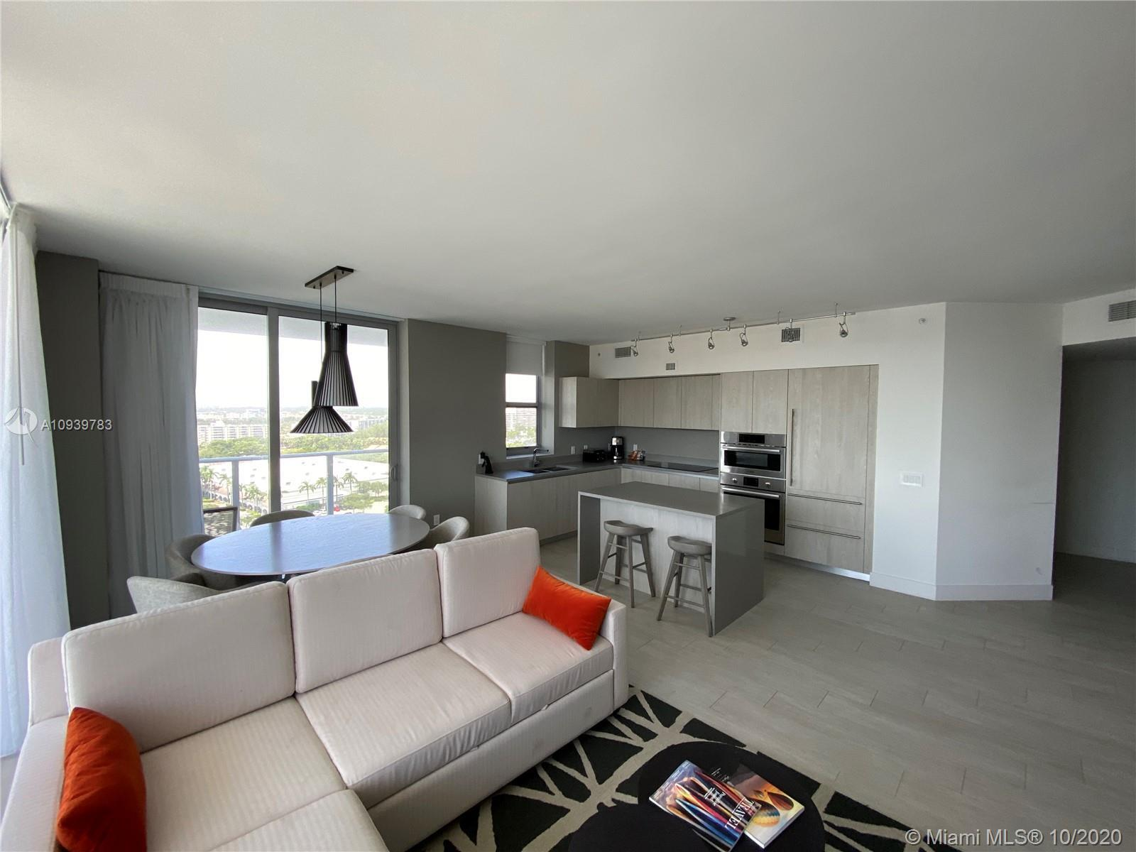 EXPERIENCE THE LUXURY! Amazing corner unit in luxurious Hyde Beach House with turnkey. Offered at $9