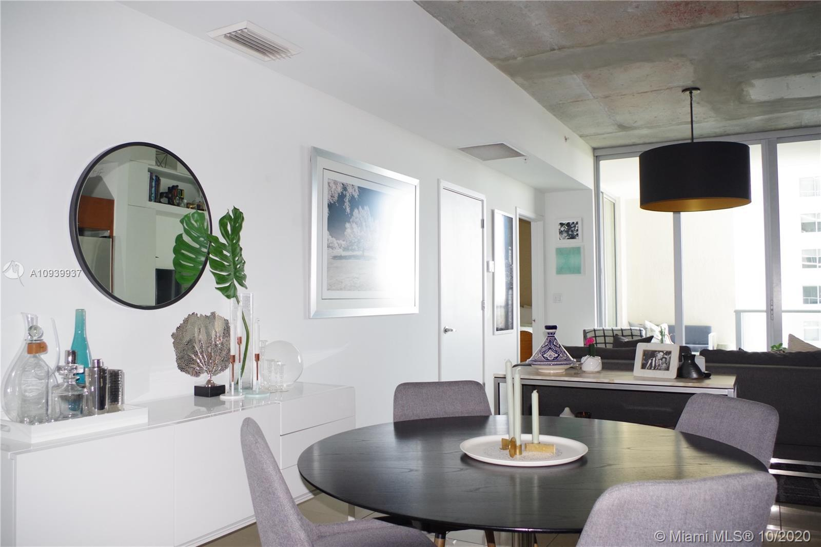 Come see this beautiful 1BR /1Bth condo! NY architect & Miami based designer have added all the righ