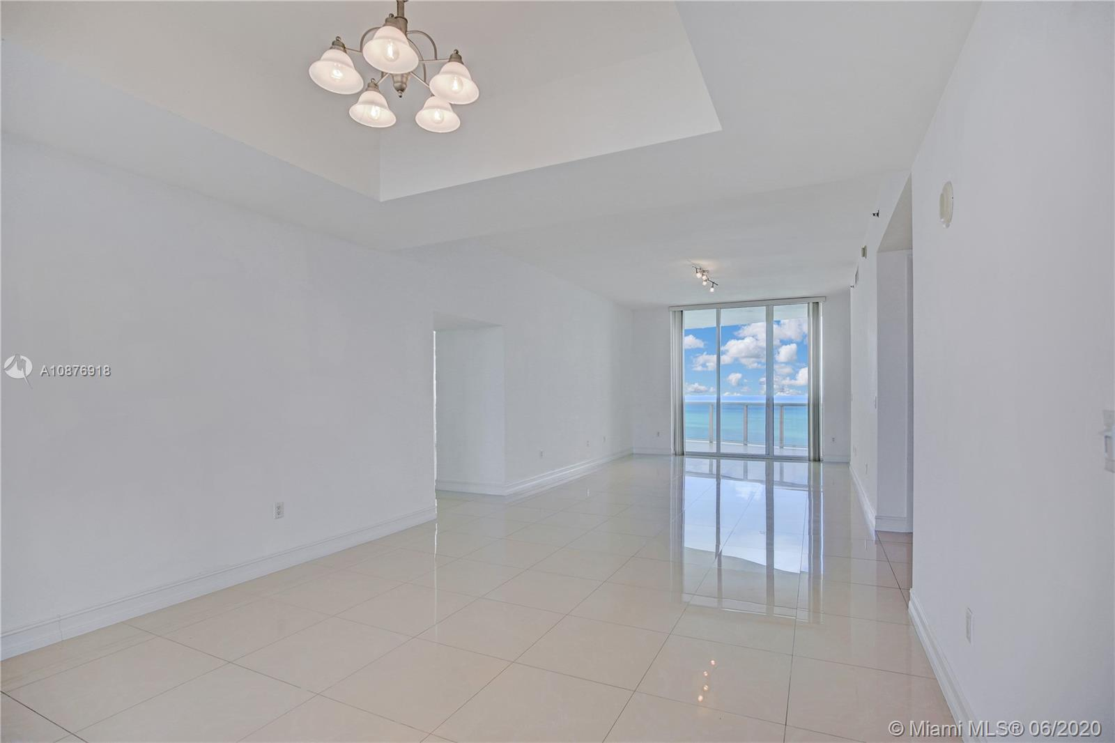 3 Bedrooms / 3.5 Baths beachfront unit with 4 balconies where you will enjoy the Amazing and breatht