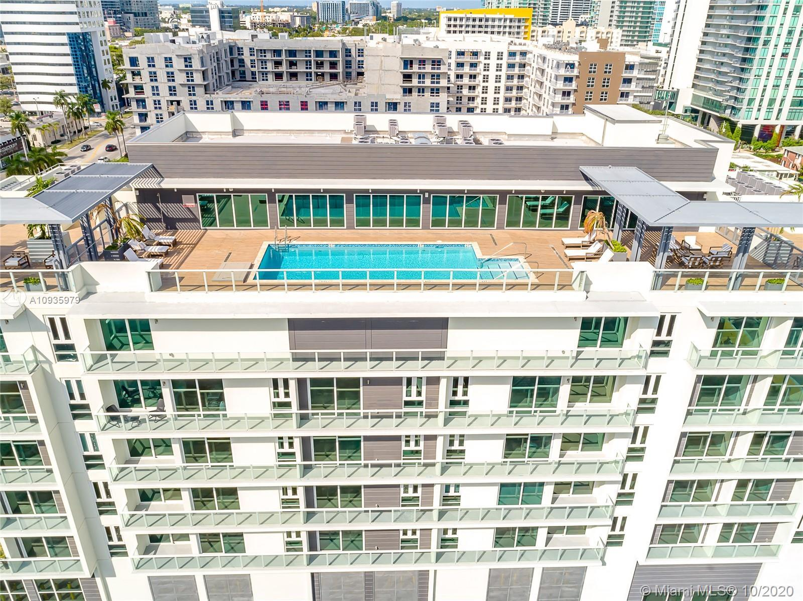 One of a kind 1 bedroom unit available at one of the newest luxury condos in the Biscayne strip feat