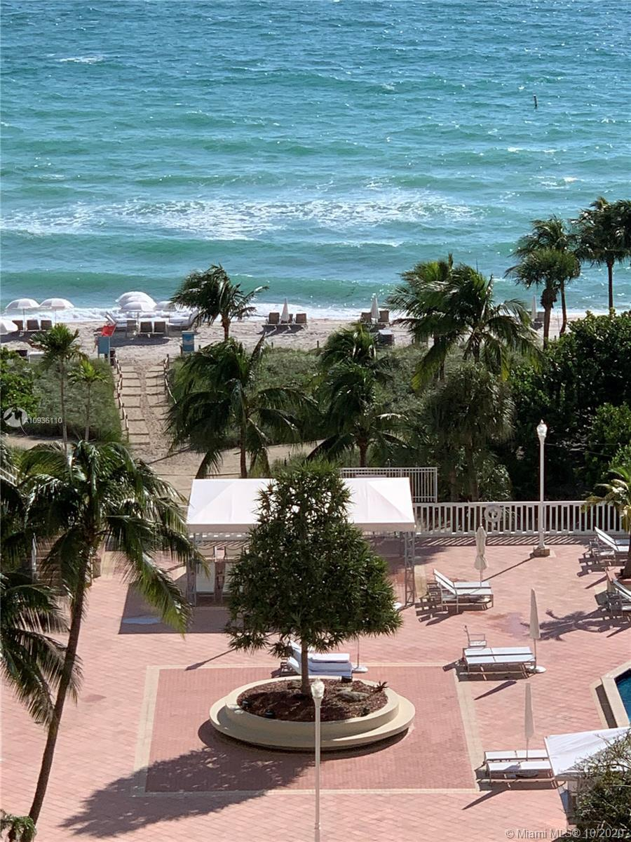 12th floor direct ocean view condo with terrific amenities including pool, tennis, restaurant, valet