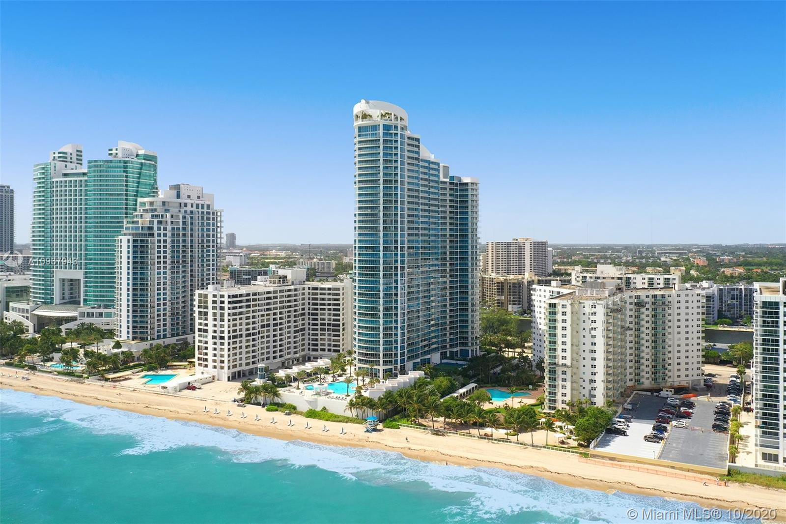 5 Star luxury oceanfront living with fabulous ocean, Intracoastal, and city views from this corner 3