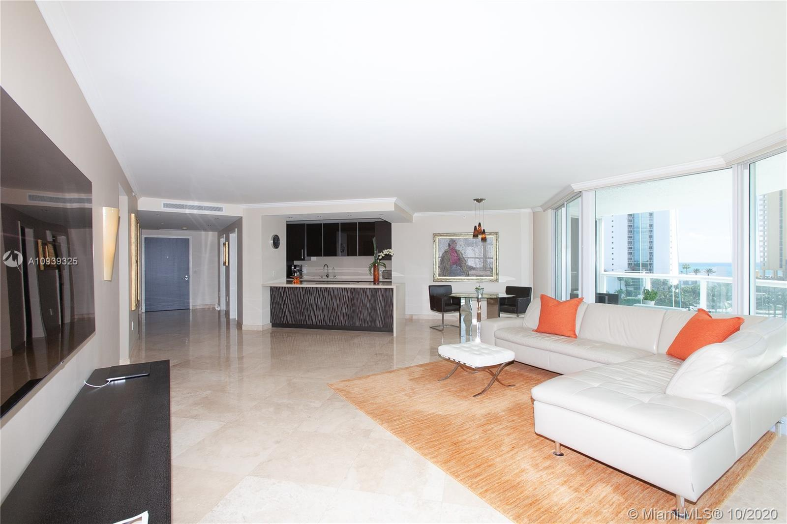 Wow! Sunny Isles Beach's Finest!  This Redone Gem in Oceania IV With Views Of Ocean, Bay, & City Wil