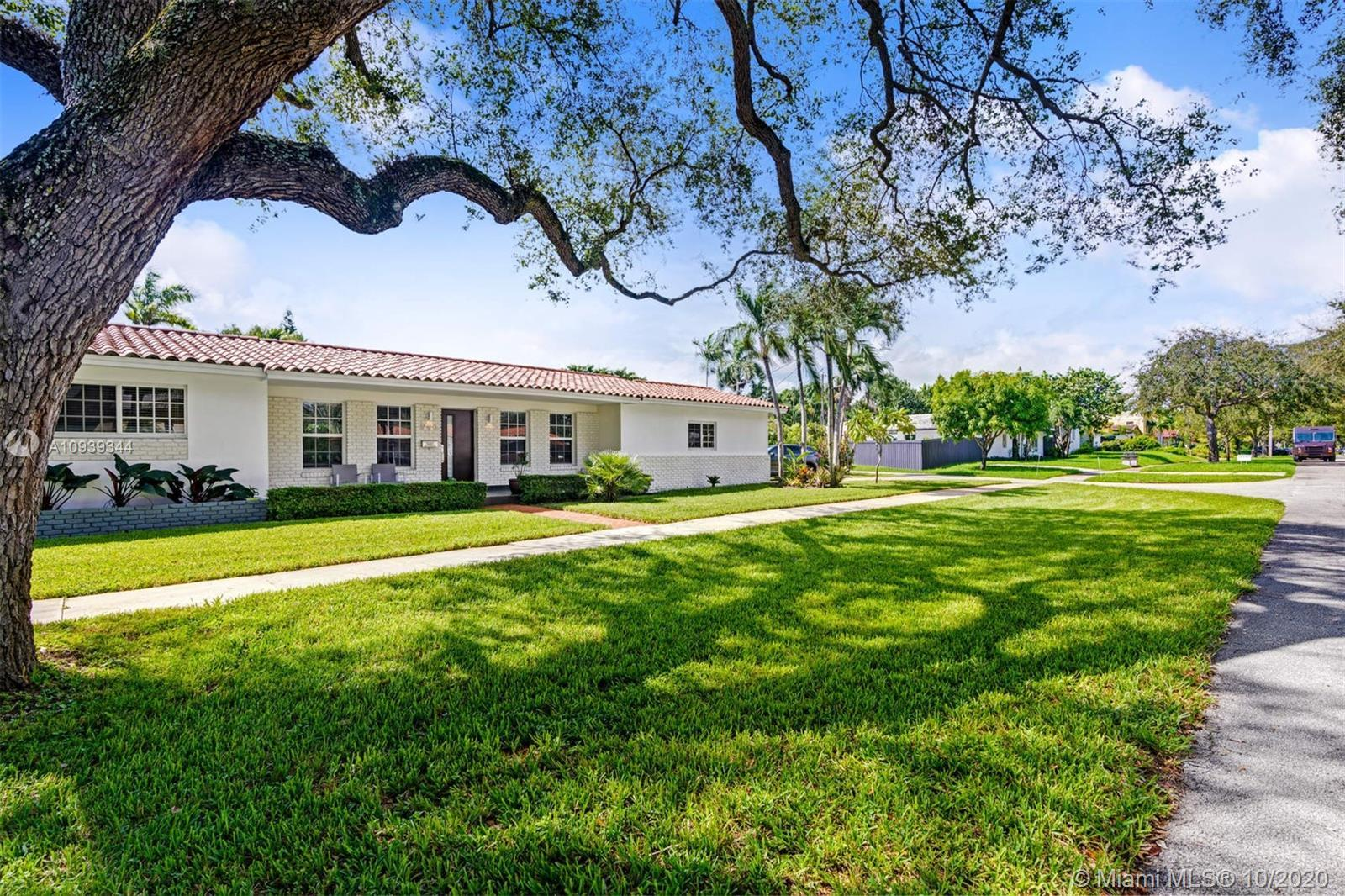 Completely renovated move-in ready Miami Shores 3BD/2BA home. All bedrooms are spacious with large c