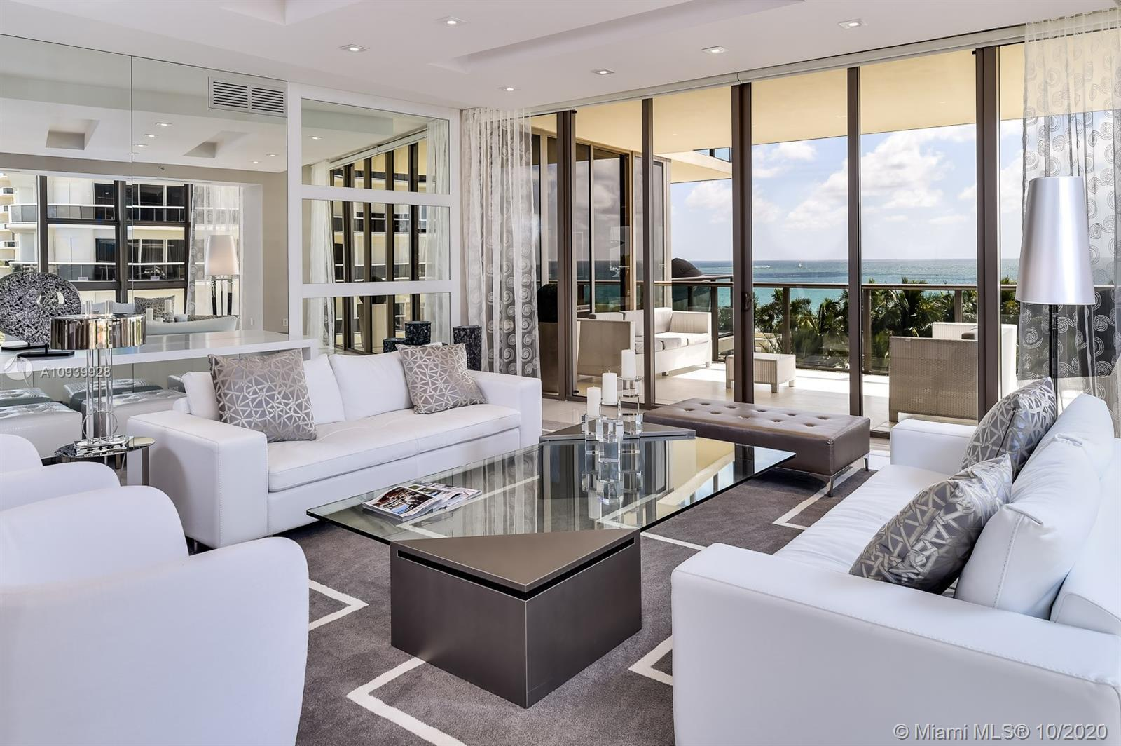 Spectacular residence in one of Miami's most sought after buildings -- St. Regis Bal Harbour. Covete
