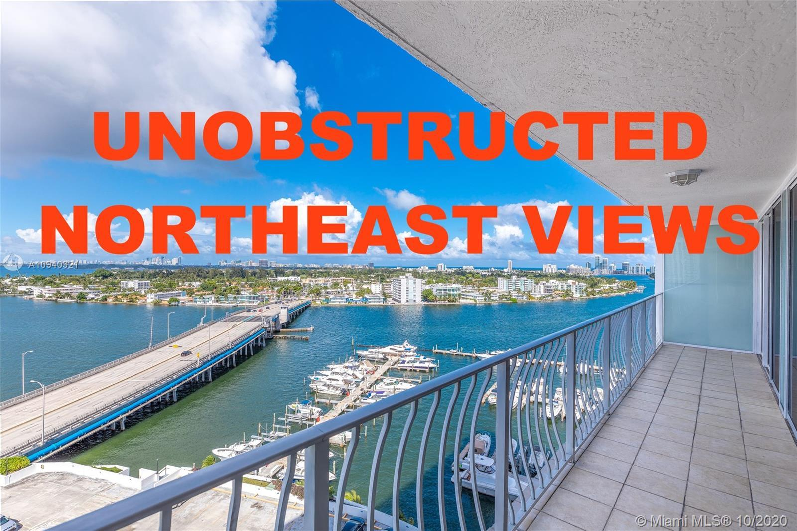 This stunning waterfront unit is available on one of the best lines of the building.  This magnifice