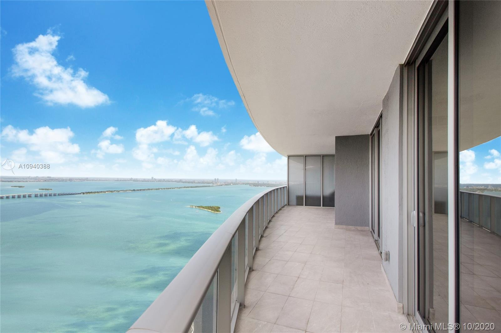 DEAL ALERT! New construction Lower Penthouse 2 bedroom with 3 full baths on the 48th floor featurin