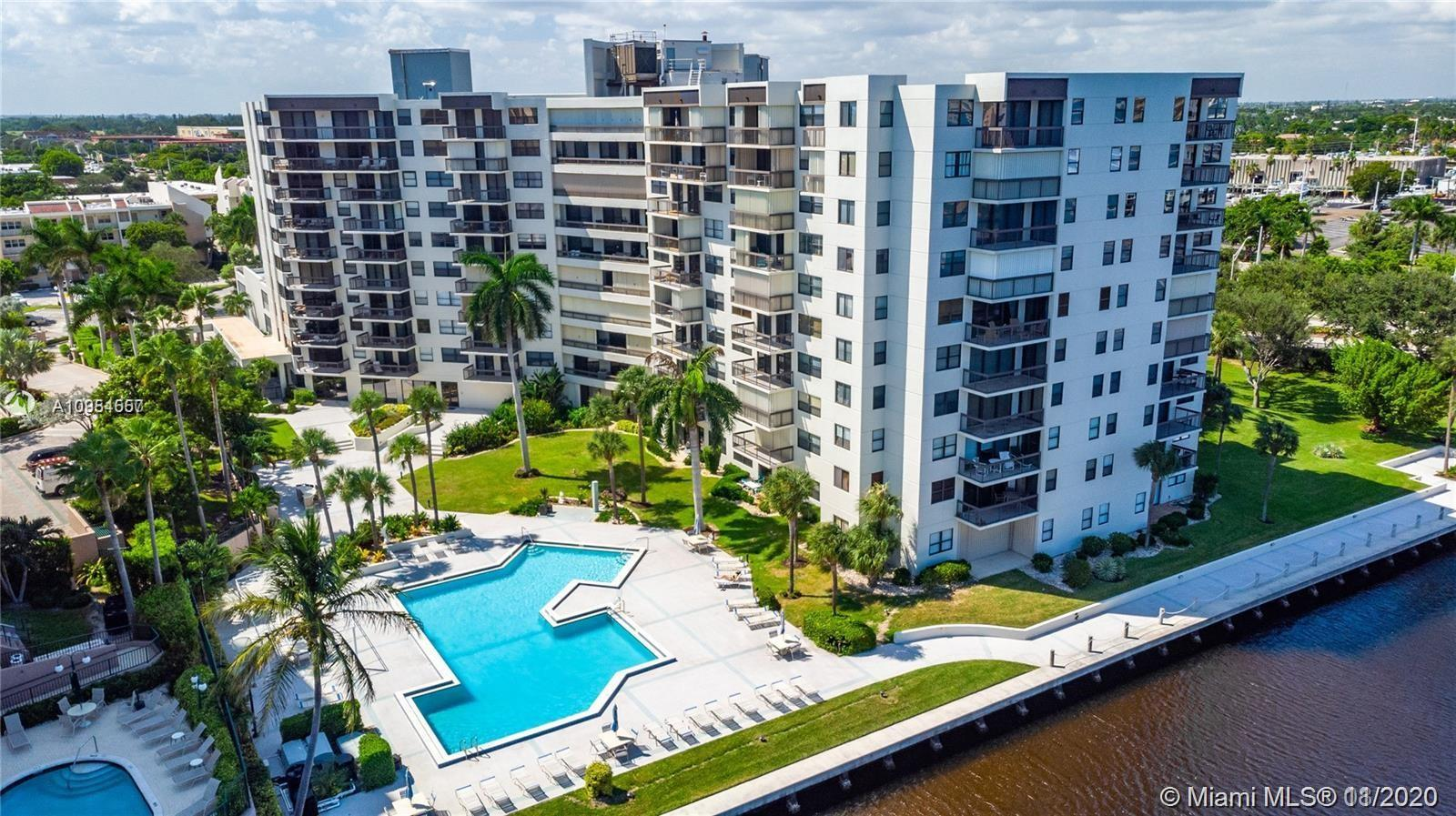 PRICED TO SELL! OCEAN AND INTRACOASTAL PARTIAL VIEWS! THIS LARGE UNIT (APPROX 1300- 1350 SQF) HAS A