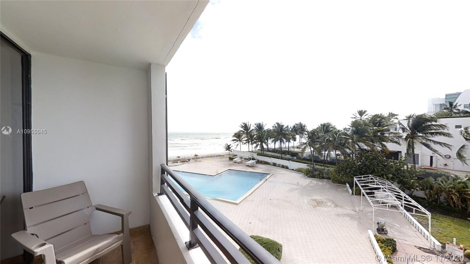 Wonderful Ocean Views, in Hollywood, well care unit. Rare opportunity wont last long. Bbq, pool, bel