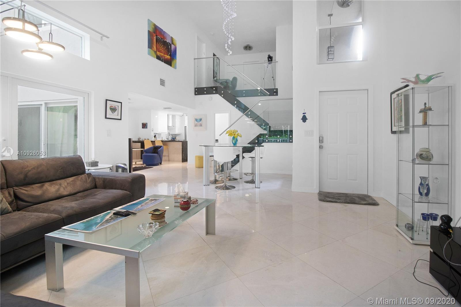 Beautiful, contemporary residence at a privileged location on the preserve in West Lake Village. No
