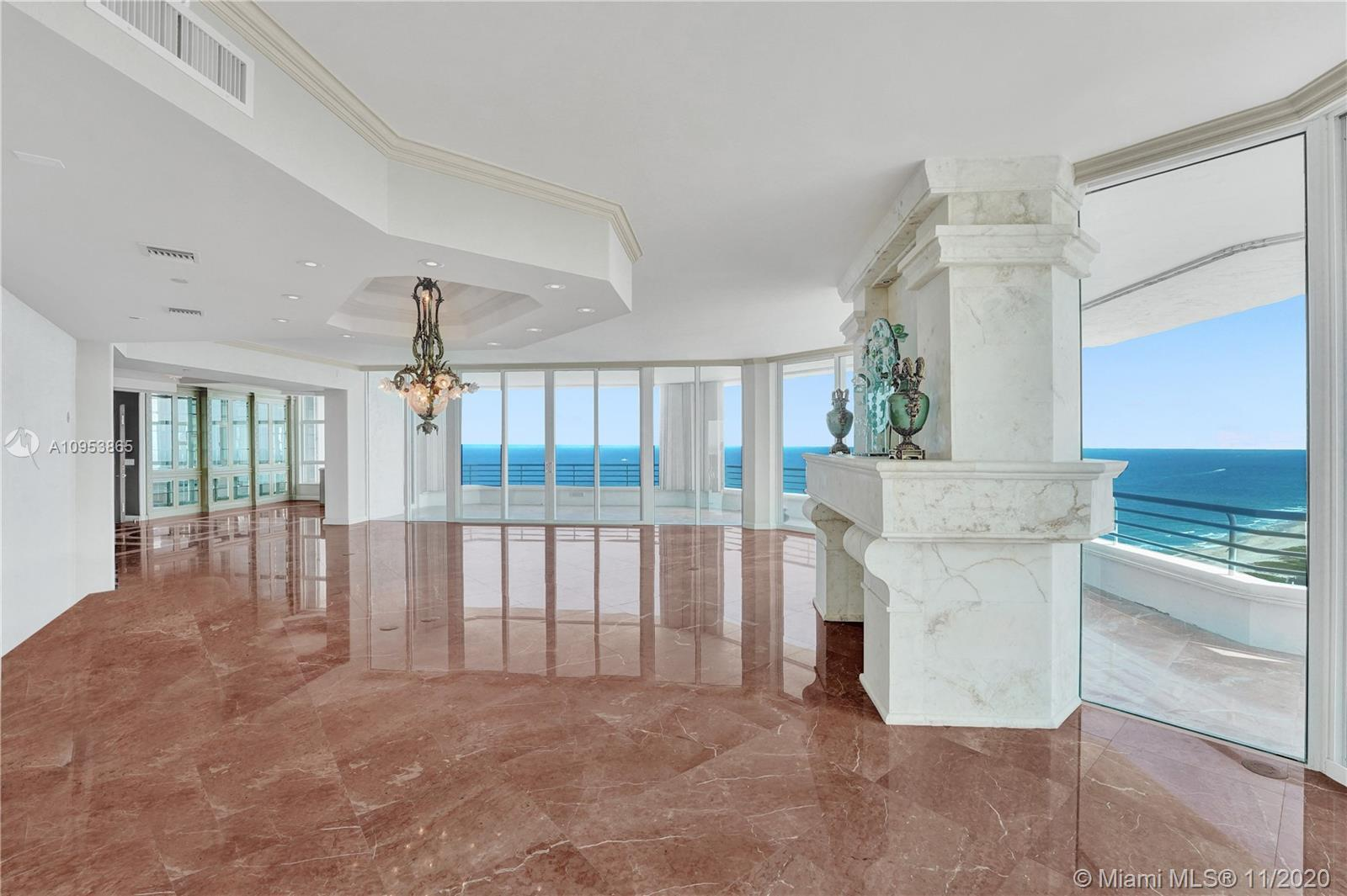 World-class luxury with unlimited and unobstructed panoramic views. This luxury oceanfront wraparoun
