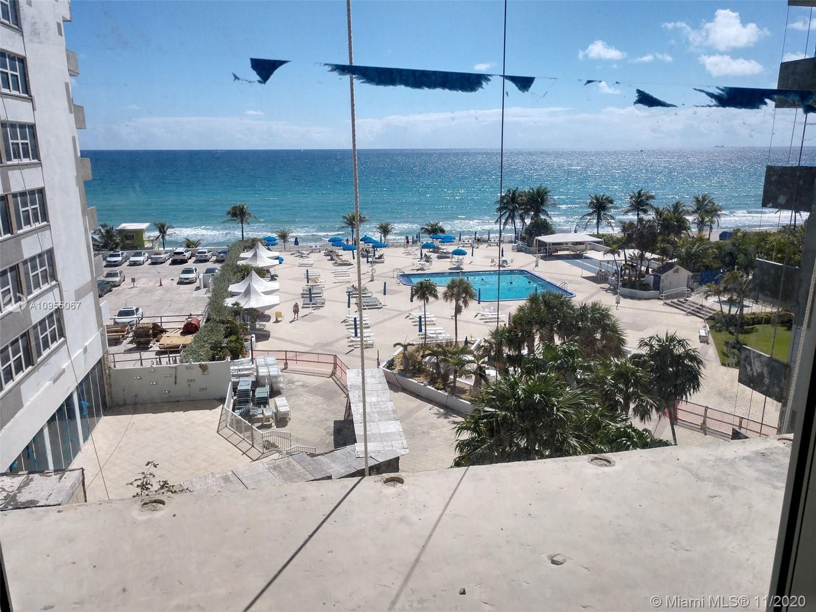 Hallandale Beach. Parker Plaza. Luxury High Rise. Unobstructed, Panoramic Direct Ocean Views From Al