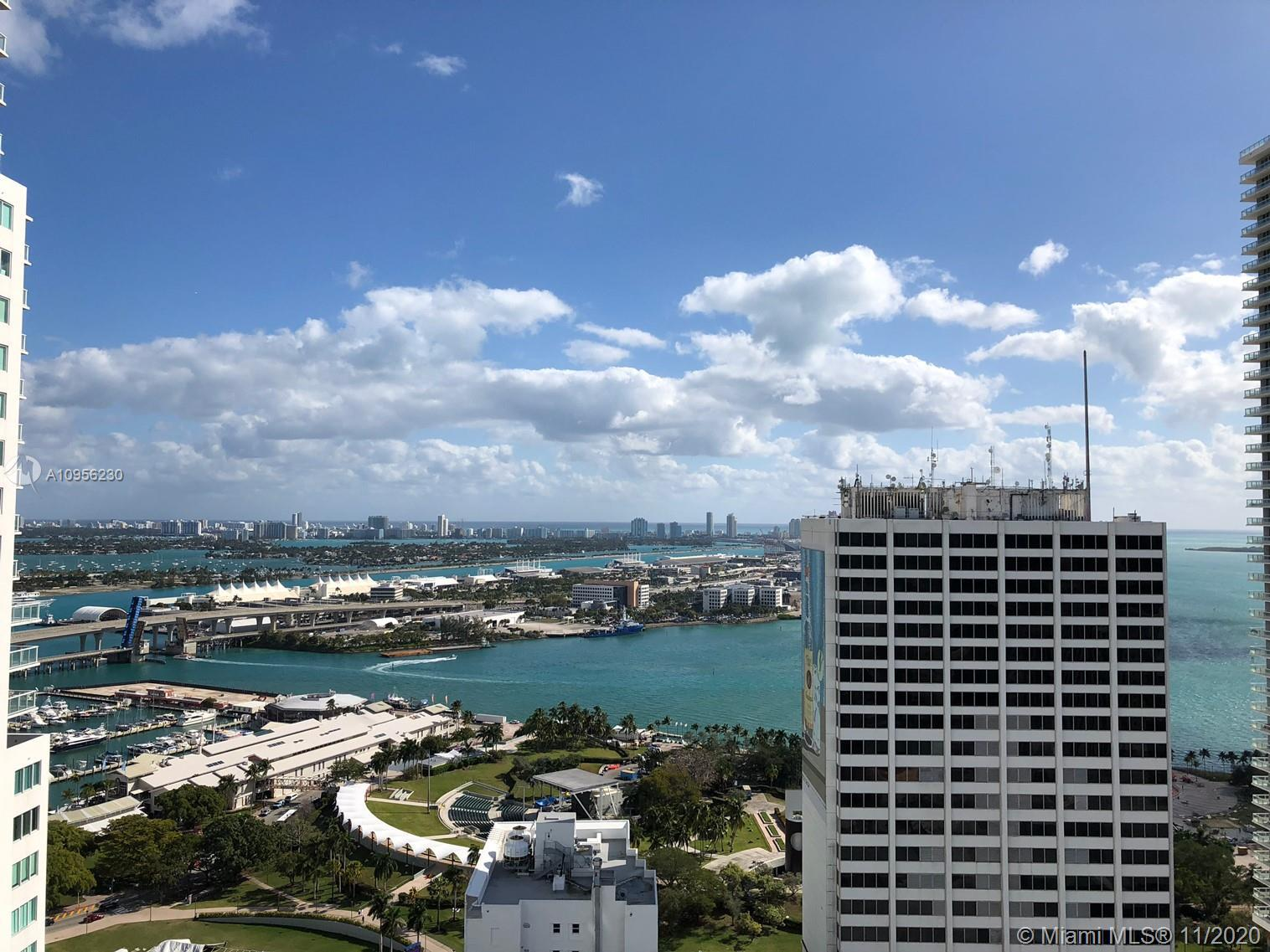JUST LISTED....High-rise Corner unit in the heart of Downtown Miami's Loft 2. Experience unobstructe