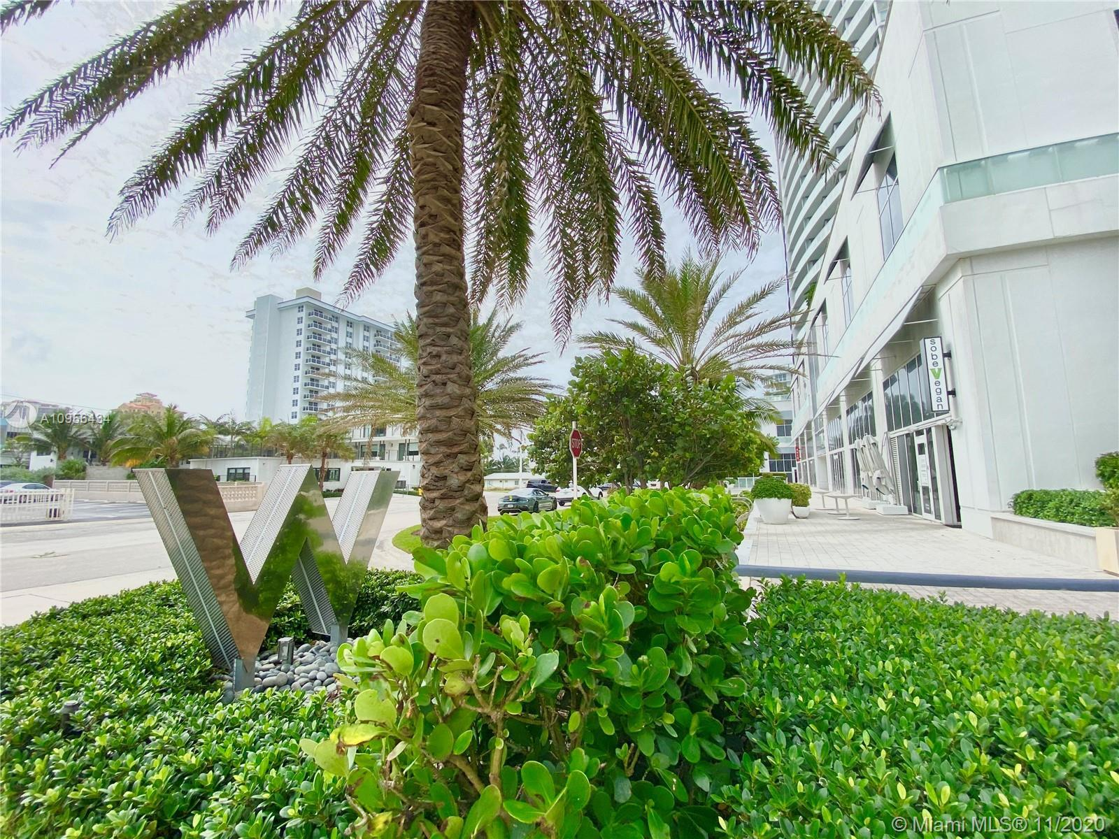 Located in the heart of Ft Lauderdale Beach this stunning oceanfront unit at The W features,  large