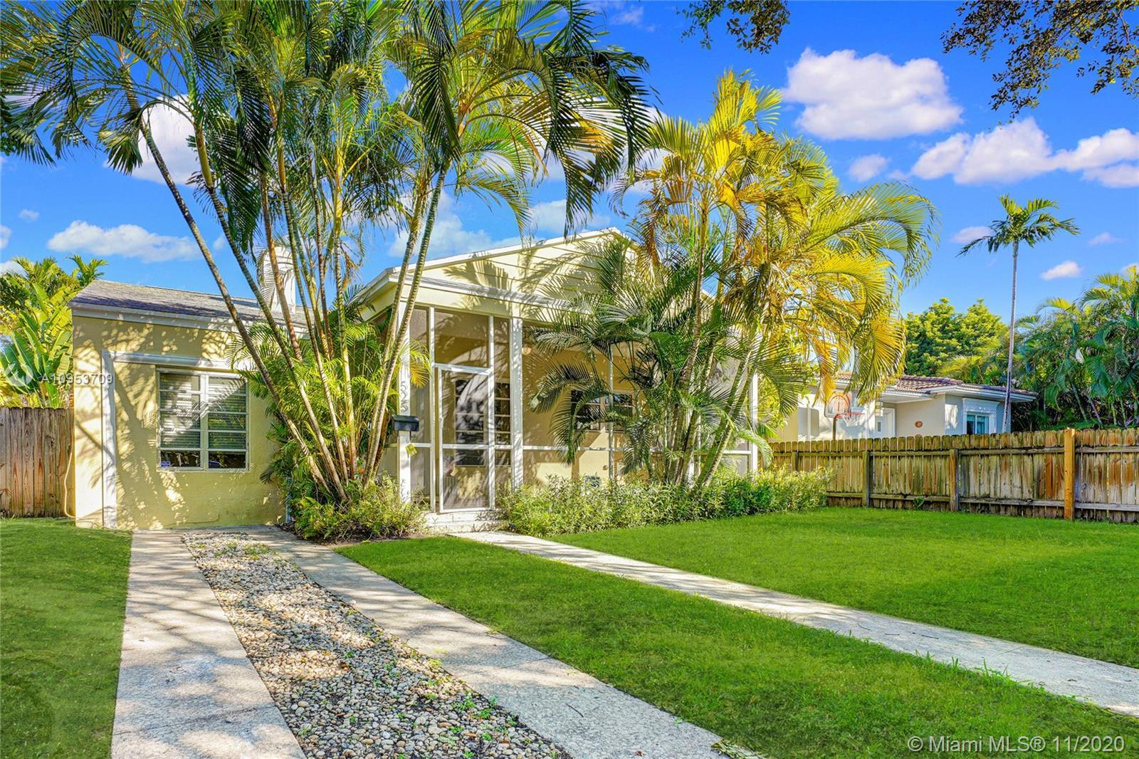 Miami Beach Charming 3/2 home, located on a traffic-free street in desirable Lakeview neighborhood i