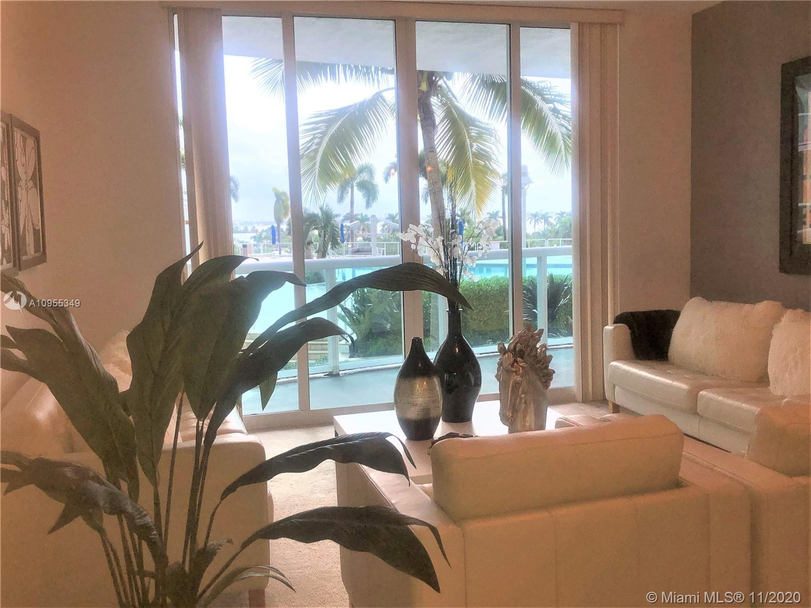 This spacious and bright condo residence features 2 Bed 2 Bath split floor plan. Marble floors in en