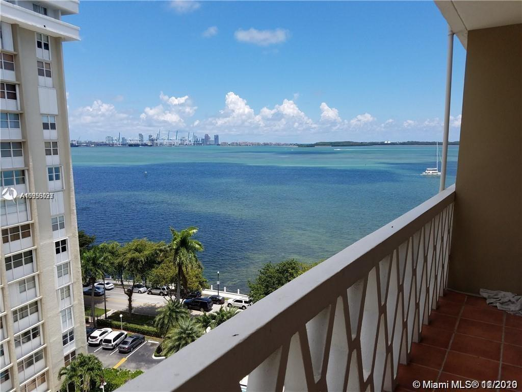 beautiful studio in brickell , with a very nice view of the ocean on 11 floor