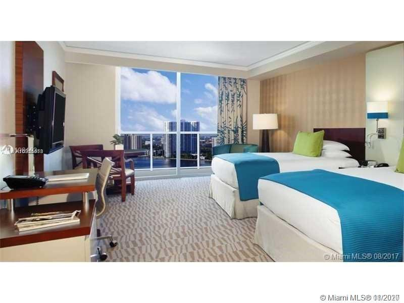 Modern and Elegant Deluxe Studio in the luxurious Trump International Miami, brand new Hotel Lobby.