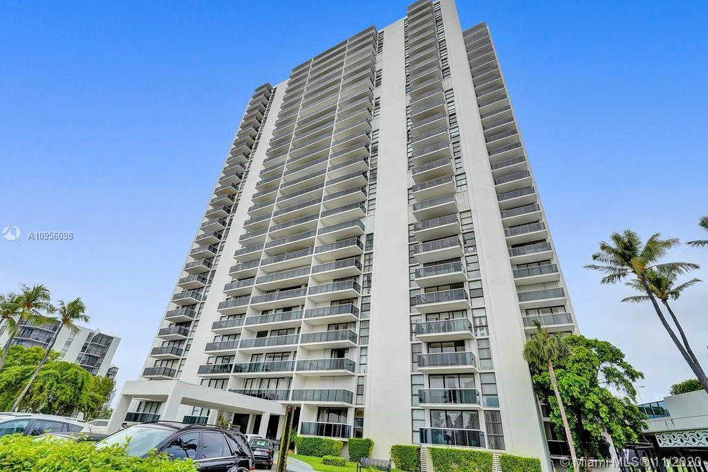 Gorgeous completely renovated corner unit with panoramic water and golf views from every room.  Floo