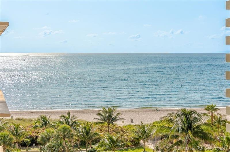 A Beautiful, bright 2/2 Ocean Front corner unit condo in Pompano Beach!! This unit has stunning view