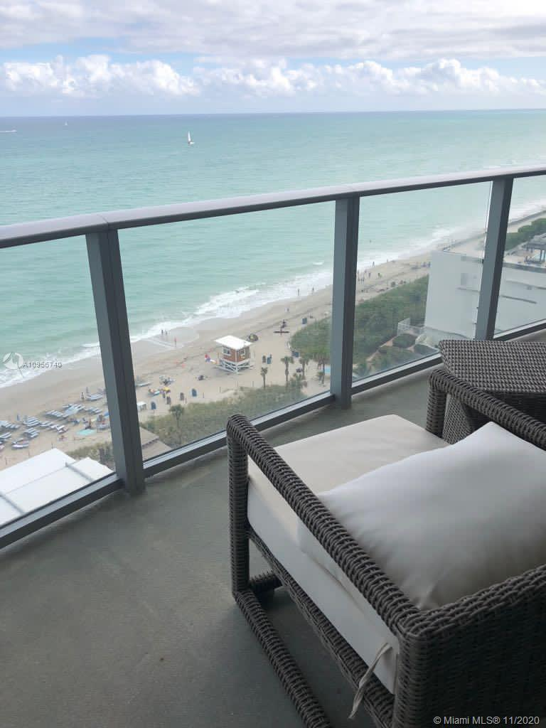 Gorgeous ocean views. Brand new 2bed/2baths residence unit on the 10th floor. Hyde Residences are cl