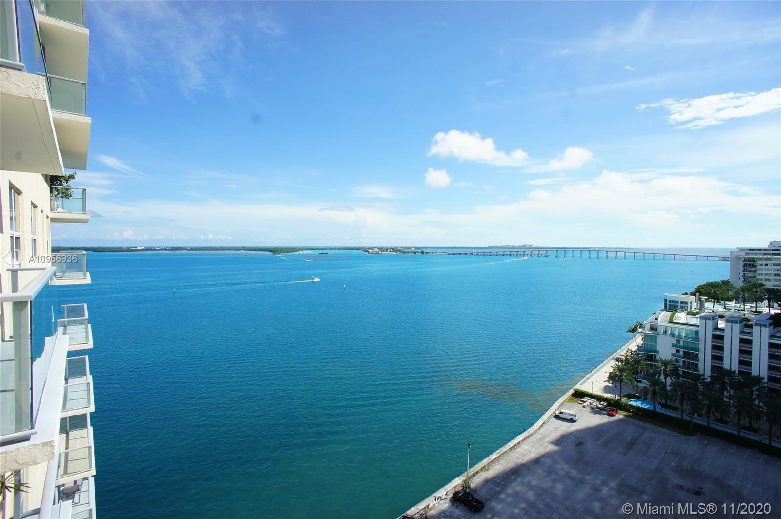 Amazing Water Views to the Ocean, Biscayne Bay, and the city. Perfect home and a perfect investment.